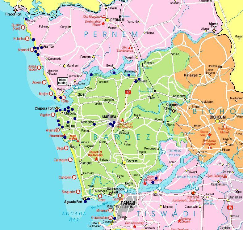 Maps of india goa map goa gumiabroncs Image collections